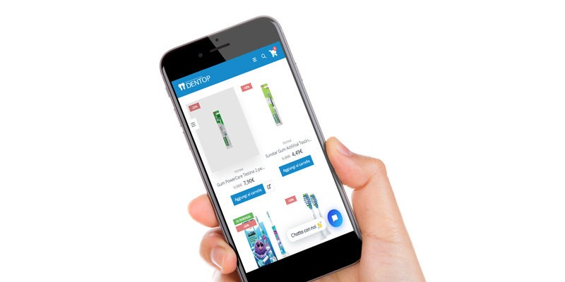 Dentop e-commerce igiene orale