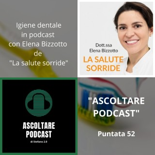 Intervista Elena Bizzotto su Ascoltare Podcast