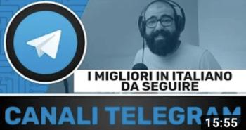 Telegram canali consigliati