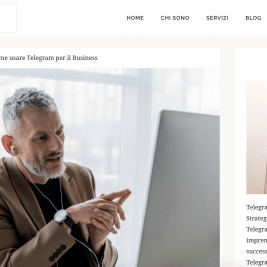 Marta Pellizzi Telegram per il business