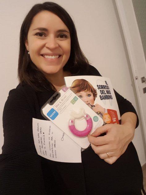 Il sorriso del mio bambino libro Chiara Fabrizi